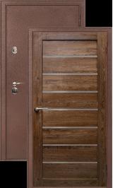 Легион 3 антик медь/кипарис металлическая входная дверь