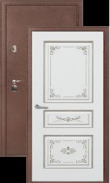 Легион 3 антик медь/вена металлическая входная дверь