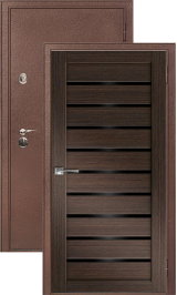 Легион 3 антик медь/венге металлическая входная дверь