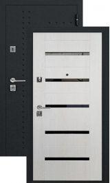 SalvaDoor 2 черный муар экодуб металлическая входная дверь