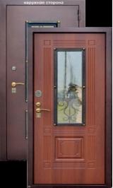 Ажур металлическая входная дверь