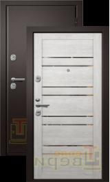 Дублин (Медея 340) Сатин/Дуб нордик входная дверь