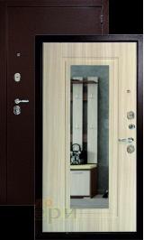 Гарант с зеркалом Антик медь/сандал белый входная дверь