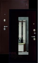 Гарант с зеркалом Антик медь/венге входная дверь