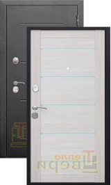 Изотерма антик серебро/серебро с терморазрывом входная дверь