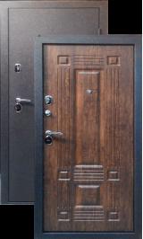 Тепло-дверь Н-22, Черный шелк рисунок 08 цвет Дуб антик металлическая входная дверь