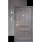 Тепло-дверь H-24, Черный шелк-тик металлическая входная дверь