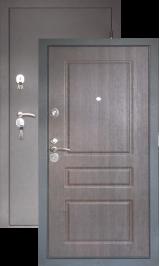 Тепло-дверь N-24, Черный шелк-тик металлическая входная дверь