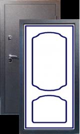 Тепло-двери, Черный шелк рисунок 01 цвет 00 металлическая входная дверь