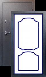 Тепло-двери, Черный шелк рисунок 02 цвет 00 металлическая входная дверь