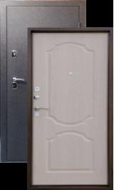 Тепло-двери, Черный шелк рисунок 02 цвет Белое дерево металлическая входная дверь