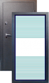 Тепло-двери, Черный шелк рисунок 03 цвет 00 металлическая входная дверь