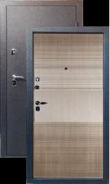 Тепло-двери, Черный шелк рисунок 03 цвет Ель карпатская металлическая входная дверь
