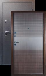 Тепло-двери, Черный шелк рисунок 03 цвет Венге металлическая входная дверь