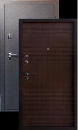 Тепло-двери, Черный шелк рисунок 03 цвет Венге ребро металлическая входная дверь