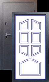 Тепло-двери, Черный шелк рисунок 04 цвет 00 металлическая входная дверь