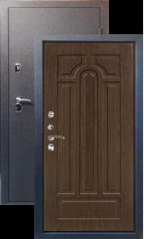Тепло-двери, Черный шелк рисунок 05 цвет Грецкий орех металлическая входная дверь