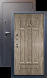 Тепло-двери, Черный шелк рисунок 05 цвет Ель карпатская металлическая входная дверь