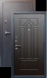 Тепло-двери, Черный шелк рисунок 05 цвет Венге металлическая входная дверь