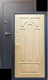 Тепло-двери, Черный шелк рисунок 05 цвет Ясень металлическая входная дверь