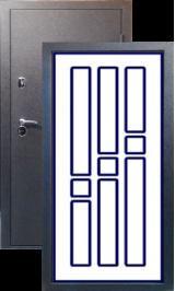 Тепло-двери, Черный шелк рисунок 06 цвет 00 металлическая входная дверь
