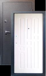 Тепло-двери, Черный шелк рисунок 06 цвет Белое дерево металлическая входная дверь