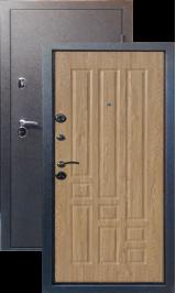 Тепло-дверь МАКСИМУМ, Черный шелк рисунок 06 цвет Ель карпатская металлическая входная дверь