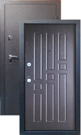 Тепло-двери, Черный шелк рисунок 06 цвет Венге металлическая входная дверь
