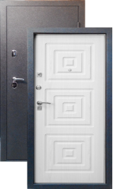 Тепло-двери, Черный шелк рисунок 16 цвет Белое дерево металлическая входная дверь
