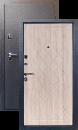 Тепло-двери, Черный шелк рисунок 28 цвет Дуб беленый с синими прожилками металлическая входная дверь