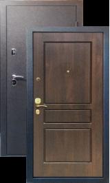 Tor МАКСИМУМ, Черный шелк рисунок 93 цвет Грецкий орех металлическая входная дверь