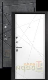 Рэтта Бетон темный/Силк сноу входная дверь