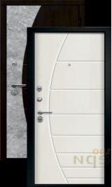 Румина Венге/Тангент перламутр входная дверь