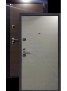 Швеция беленый дуб металлическая входная дверь (Остатки на складе)