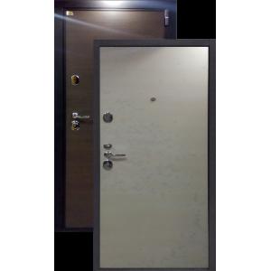 Швеция беленый дуб металлическая входная дверь