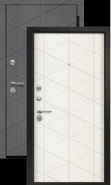 Симметрия Вуд дуб графит/Тангент перламутр входная дверь