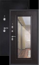 Сити Мокрый асфальт/венге с зеркалом входная дверь