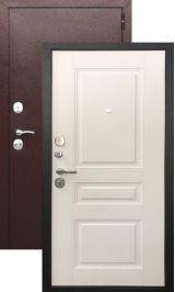 Термодверь старт антик медь/лиственница (Терморазрыв на полотне и коробе) металлическая входная дверь
