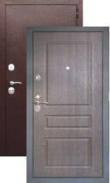 Термодверь старт антик медь/венге (Терморазрыв на полотне и коробе) металлическая входная дверь