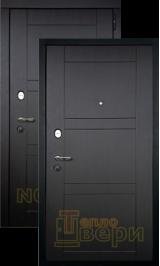 Тепломакс Черный муар/Венге металлическая входная дверь