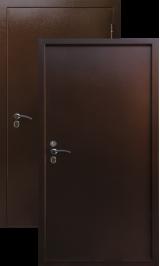 Термодверь старт (Терморазрыв на полотне и коробе) металлическая входная дверь 860 пр (Витрина)