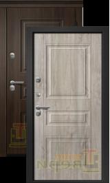 Теплодверь Триера-200 МДФ/МДФ термо металлическая входная дверь