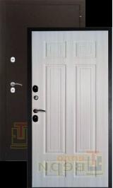 Теплодверь Ямал антик медь/дуб филадельфия крем терморазрыв на полотне и коробе металлическая входная дверь