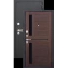 Сицилия Черный муар/Кипарис металлическая входная дверь