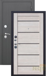 Гарда царга 7.5 мм. Муар/Лиственница мокко металлическая входная дверь