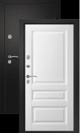 Медея 321 Черный сатин/Эрмитаж 2 входная дверь