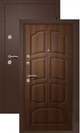 Теплодверь Триера - Терморазрыв на полотне и коробе металлическая входная дверь