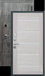 Тепло-дверь Виченца Дуб шале графит/Лиственница беж металлическая входная дверь