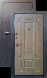 Тепло-дверь МАКСИМУМ, Черный шелк Ель карпатская металлическая входная дверь