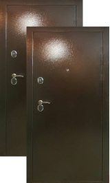 Теплодверь Сибирь-2 ТЕРМОРАЗРЫВ металлическая входная дверь